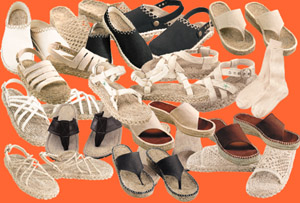 Eco Friendly Fashion Hemp Shoes from EcoDragon