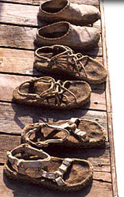 All natural hemp sandals and shoes